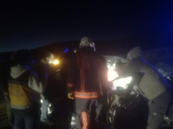 Malatya´da baba ve oğlu kazada yaralandı