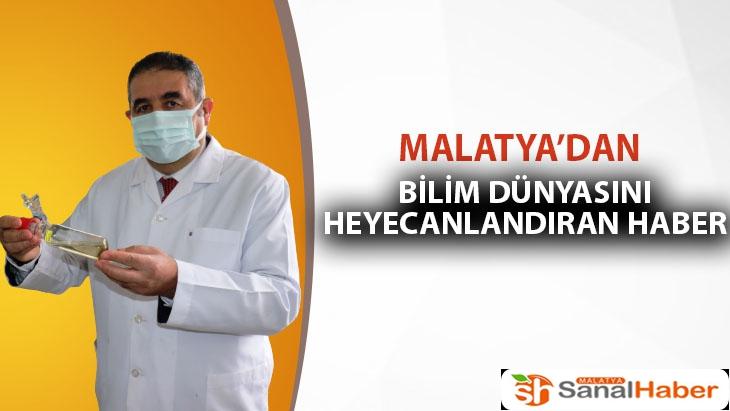 Malatya'da Bilim dünyasını heyecanlandıran haber