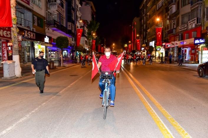 Malatya´da bisikletli denetim