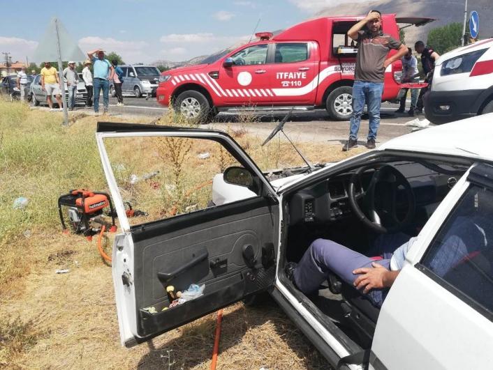 Malatya´da feci kaza: 2 ölü, 4 yaralı