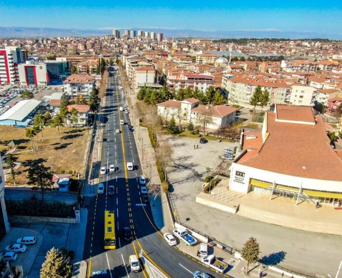 Malatya´da İstasyon Caddesi yenilendi