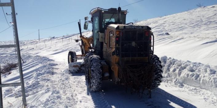 Malatya´daki yollar kardan temizlendi
