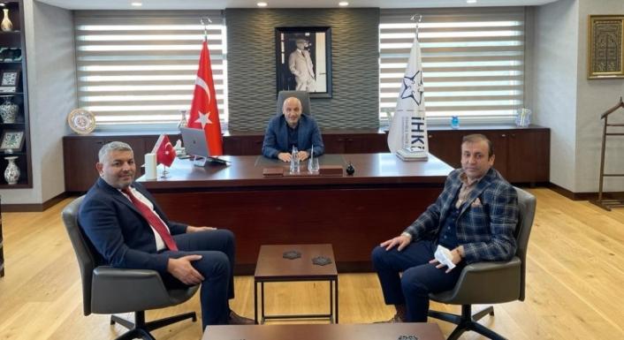 Malatya TSO Başkanı Sadıkoğlu, İHKİB Başkanı´nı ziyaret etti