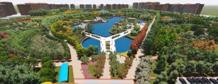 Malatya´ya 300 dönümlük park