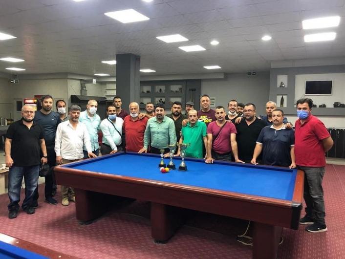 Malatyalı Bilardocu Aktı, bölge şampiyonu olarak döndü