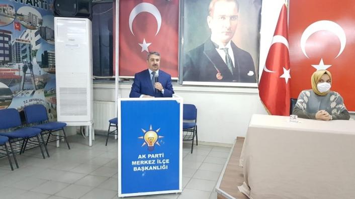 Merkez ilçe başkanlığı danışma meclisi toplandı