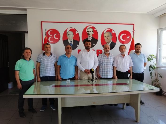 MHP İl Başkanı Samanlı: Yerel basına destek olmamız gerekiyor