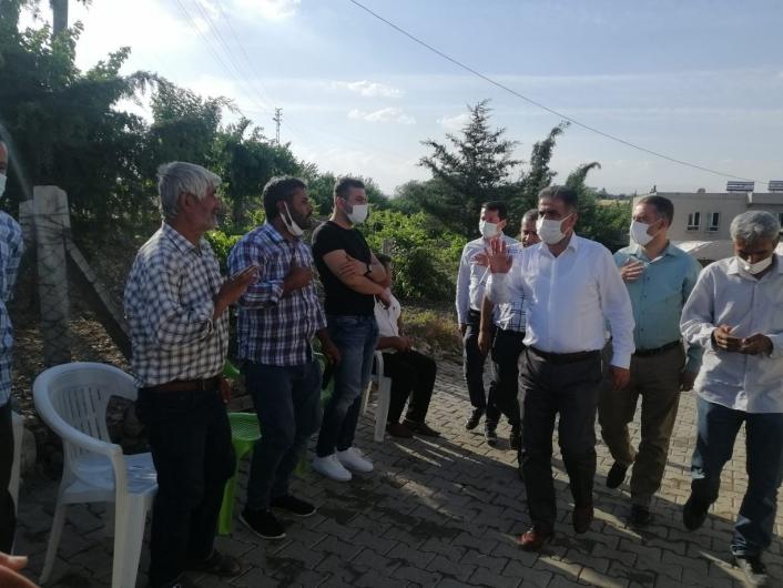 Milletvekili Fırat, kuyuda hayatını kaybedenler için taziye dileklerini iletti