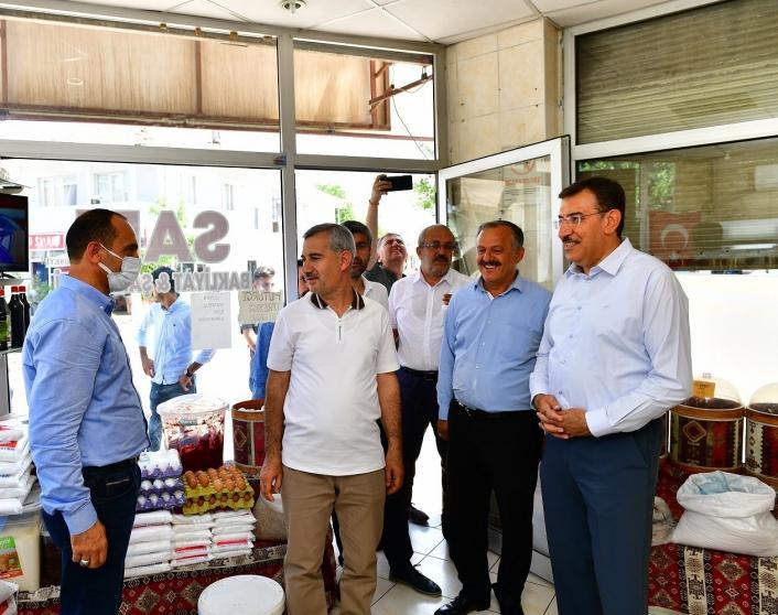 Milletvekili Tüfenkci ile Başkan Çınar, esnaflarla buluştu