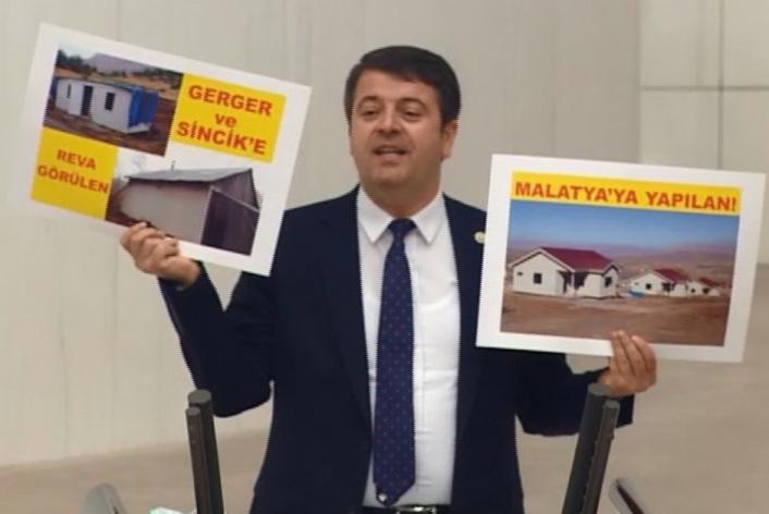 Milletvekili Tutdere, Adıyamanlı depremzedelerin sorunlarını gündeme getirdi