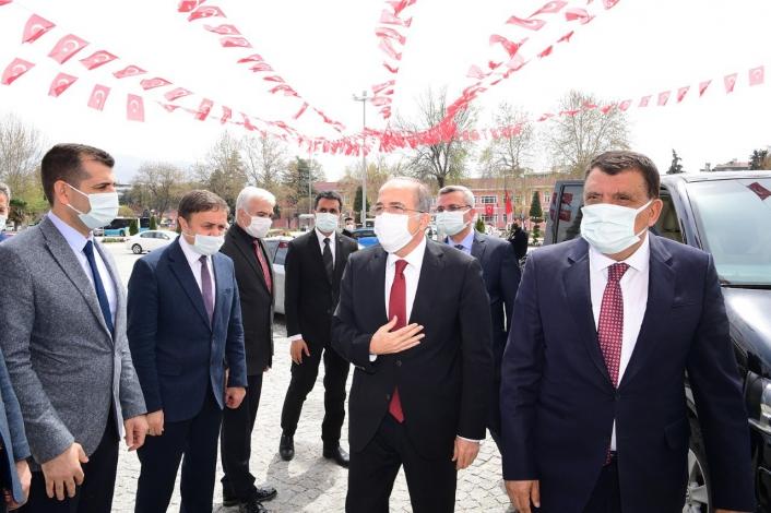 Milli Savunma Bakan Yardımcısı Alpay, Başkan Gürkan´ı ziyaret etti