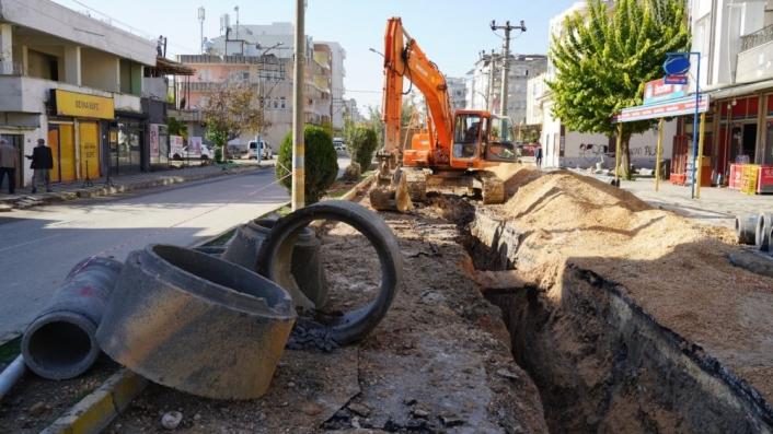 Mimar Sinan Mahallesinin altyapı çalışmaları devam ediyor