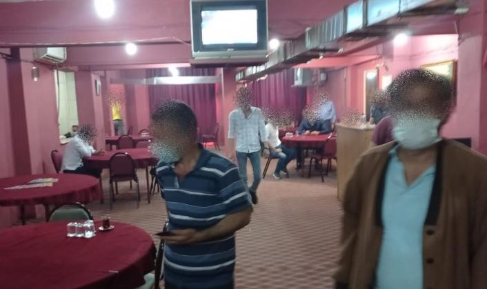 Mühürlenen iş yerinde kumar oynayanlara ceza