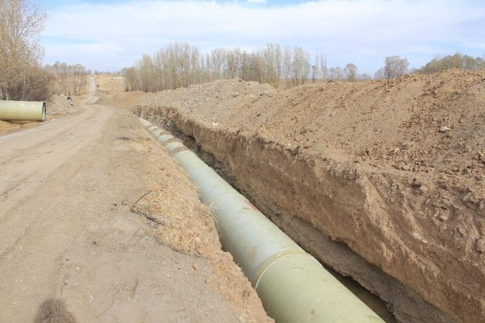 Nevruz barajı ile 55 bin dekar tarım arazisi suyla buluşacak