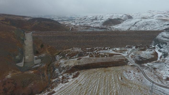 Örenlice barajı ile 13bin 470 dekar arazi suyla buluşacak