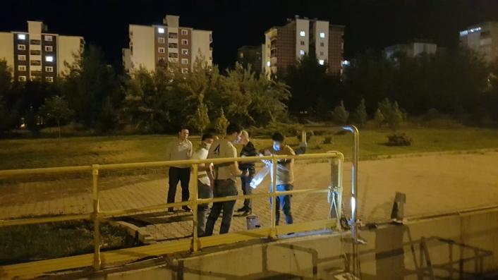 OSB atıksu arıtma tesisinde koku ölçümü yapıldı