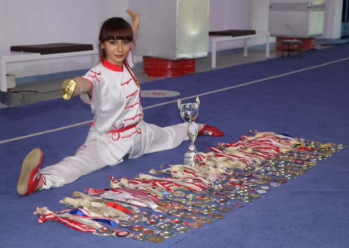 (Özel haber) 11 yıla 150 madalya sığdırdı!