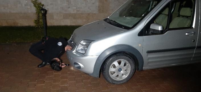 Polis ekipleri ile alkollü sürücü arasında kovalamaca yaşandı