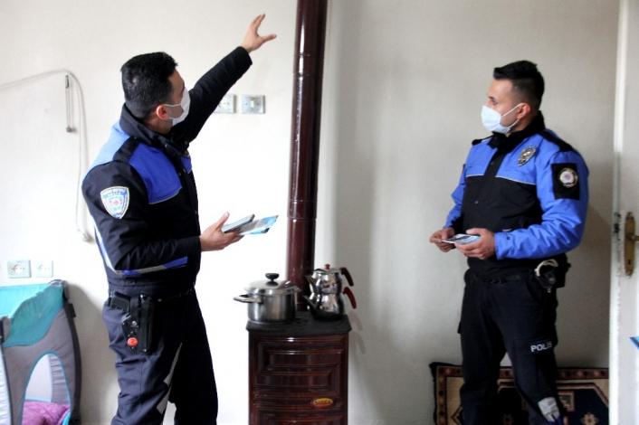 Polis kapı kapı dolaşıp `sessiz katil´ konusunda uyarıyor