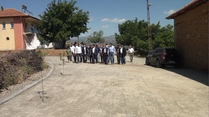 Pütürge Belediyesi kendi parke taşını üretiyor