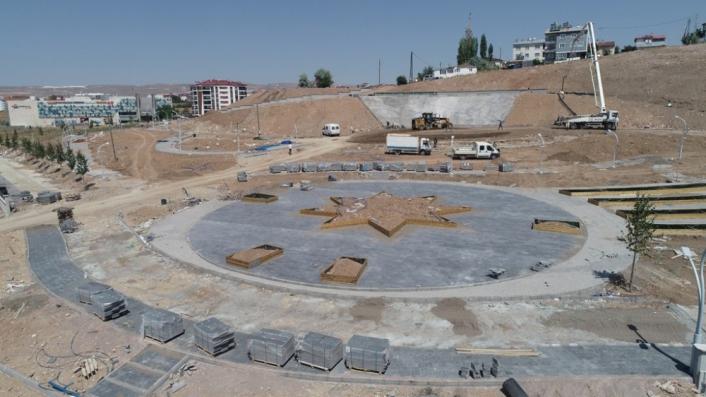 Şehit Savcı Mehmet Selim Kiraz´ın ismini taşıyan parkta yapım çalışmaları devam ediyor