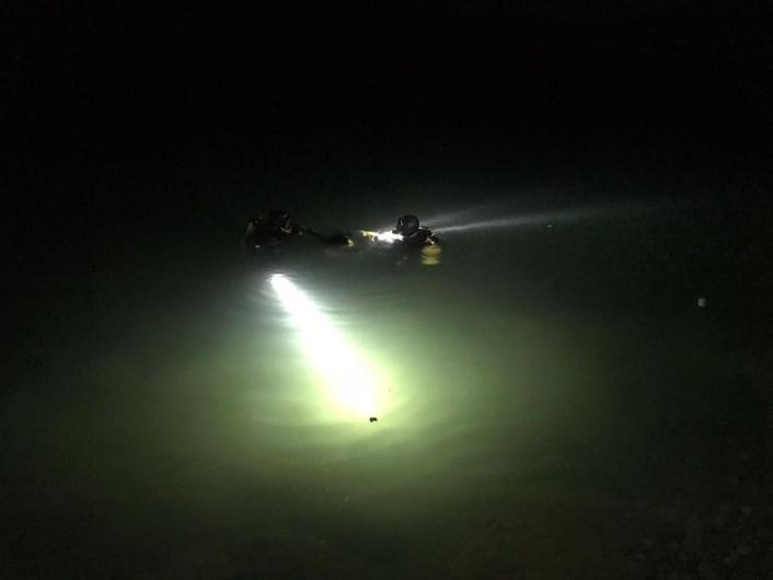 Serinlemek için baraja giren şahıs boğuldu