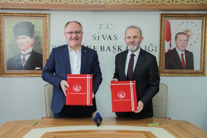 Sivas Belediyesi ve Türk Ocakları Sivas şubesi arasında işbirliği protokolü
