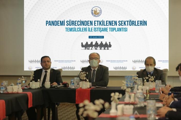 Sivas Belediyesinden esnafa 1500 TL nakdi yardım