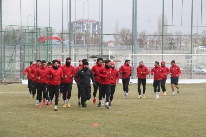 Sivas Belediyespor, Bodrumspor maçının taktiğini çalıştı