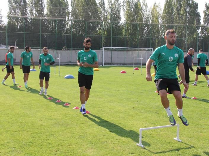 Sivas Belediyespor´da Turgutlu maçı hazırlıkları sürüyor