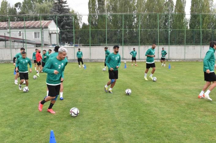 Sivas Belediyespor, Etimesgut maçı hazırlıklarını sürdürüyor