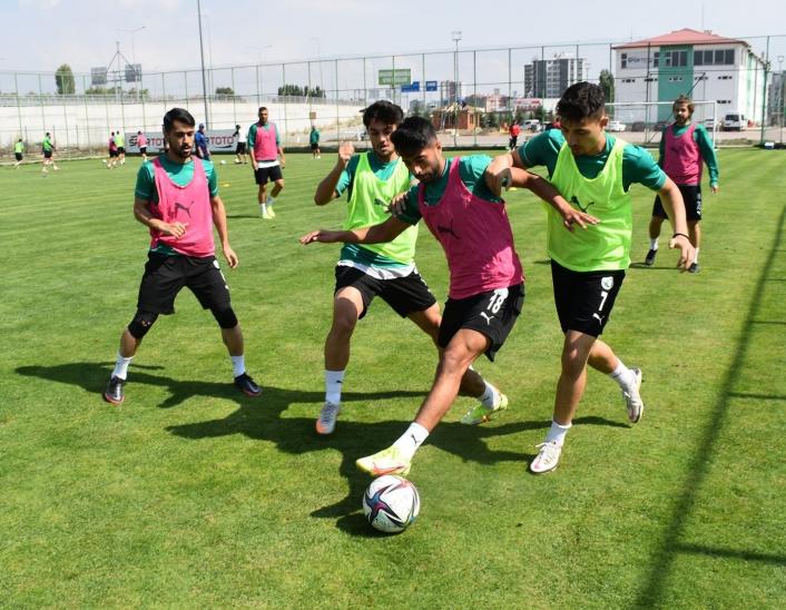 Sivas Belediyespor, Kahramanmaraşspor maçına hazırlanıyor