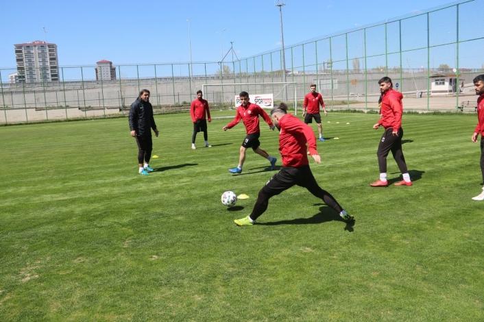 Sivas Belediyespor, Pendik maçı hazırlıklarını tamamladı