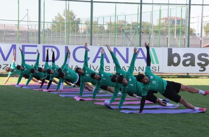 Sivas Belediyespor, Serik maçı hazırlıklarına başladı