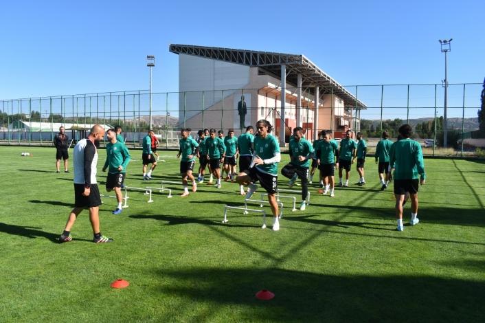 Sivas Belediyespor, Serik maçı hazırlıklarını tamamladı