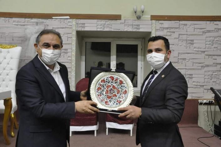 Sivas İl Özel İdaresi Genel Sekreterliği görevine atanan Algın´a Gürün´de veda programı düzenlendi