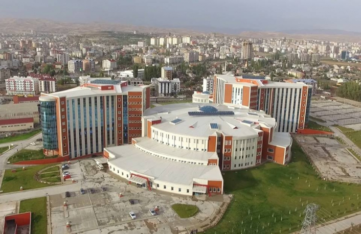 Sivas Numune Hastanesine teşekkür belgesi