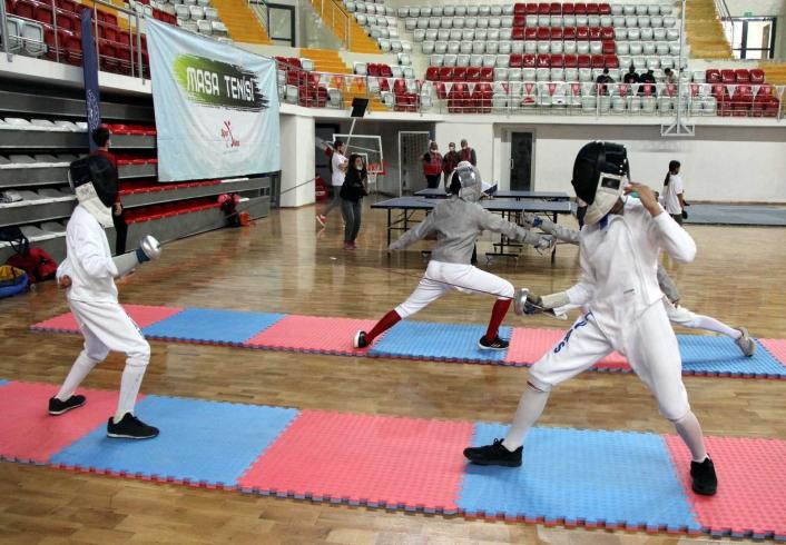 Sivas´ta Avrupa Spor Haftası etkinliği açılışı ilgi gördü