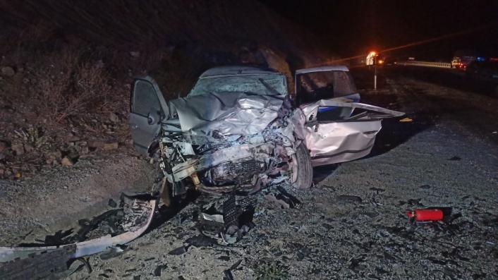 Sivas´ta trafik kazası: 1 ölü, 4 ağır yaralı