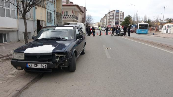 Sivas´ta trafik kazası: 1 yaralı