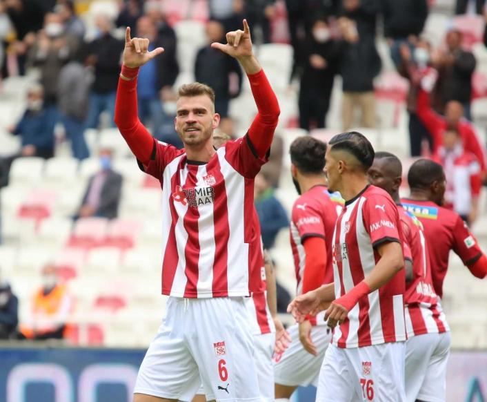 Sivasspor´da Dimitris Goutas, gollerine devam ediyor