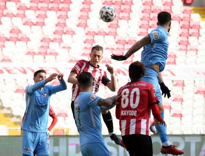 Sivasspor ile Gaziantep FK 5. randevuda