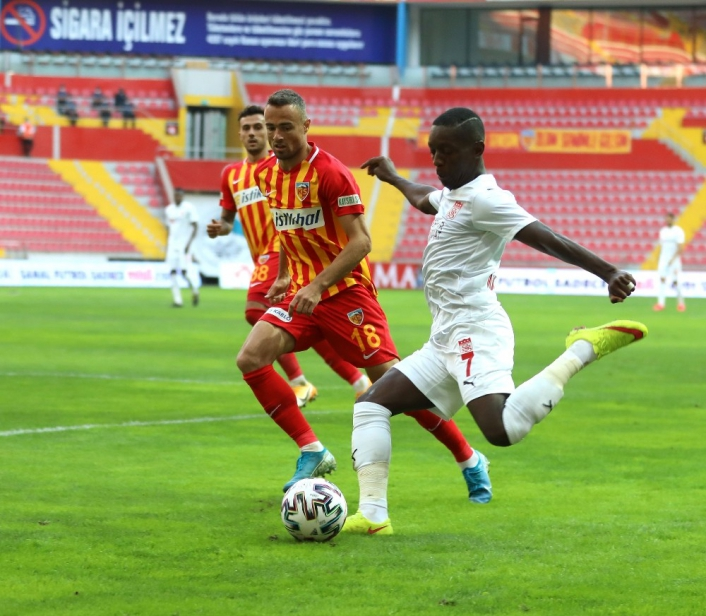 Sivasspor ile Kayserispor 28. randevuda