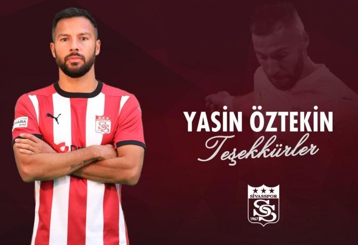 Sivasspor Yasin Öztekin´e teşekkür etti