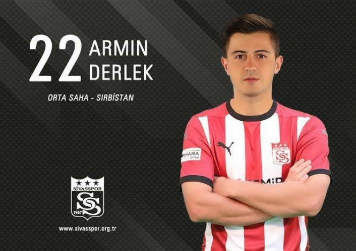Sivassporlu Armin Derlek, NK Aluminj´e kiralandı