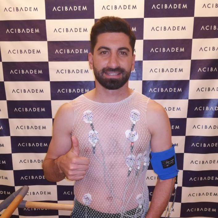 Sivassporlu Muammer Yıldırım, sağlık kontrolünden geçti