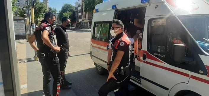 Sokak ortasında saldırıya uğrayan kişi yaralandı
