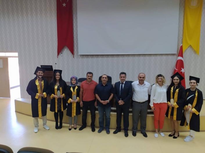 Spor Bilimleri Fakültesi´nde mezuniyet