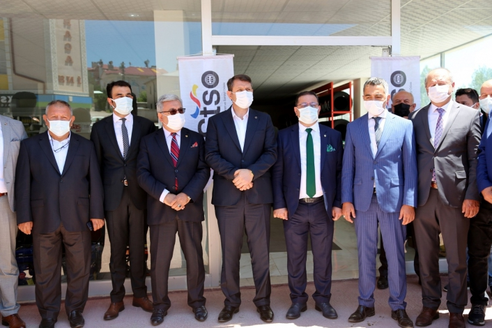 STSO ile STB Kangal´da temsilcilik açtı