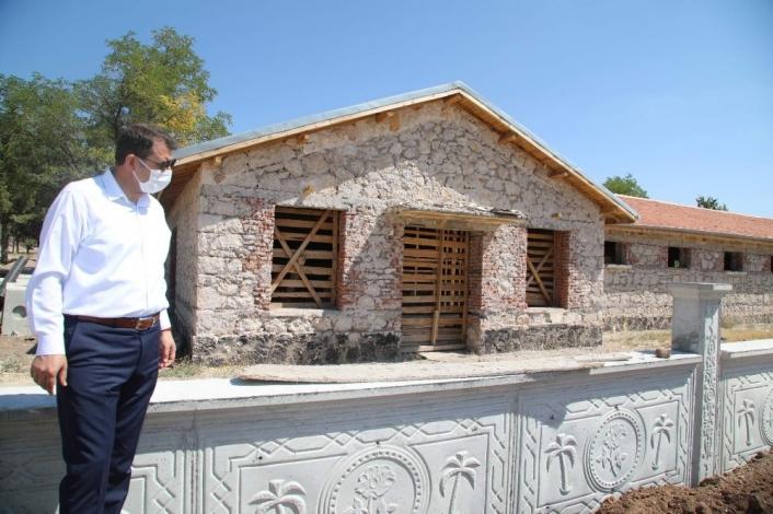 Sultan Abdülhamid Han´a at yetiştirilen haralar, turizme kazandırılıyor